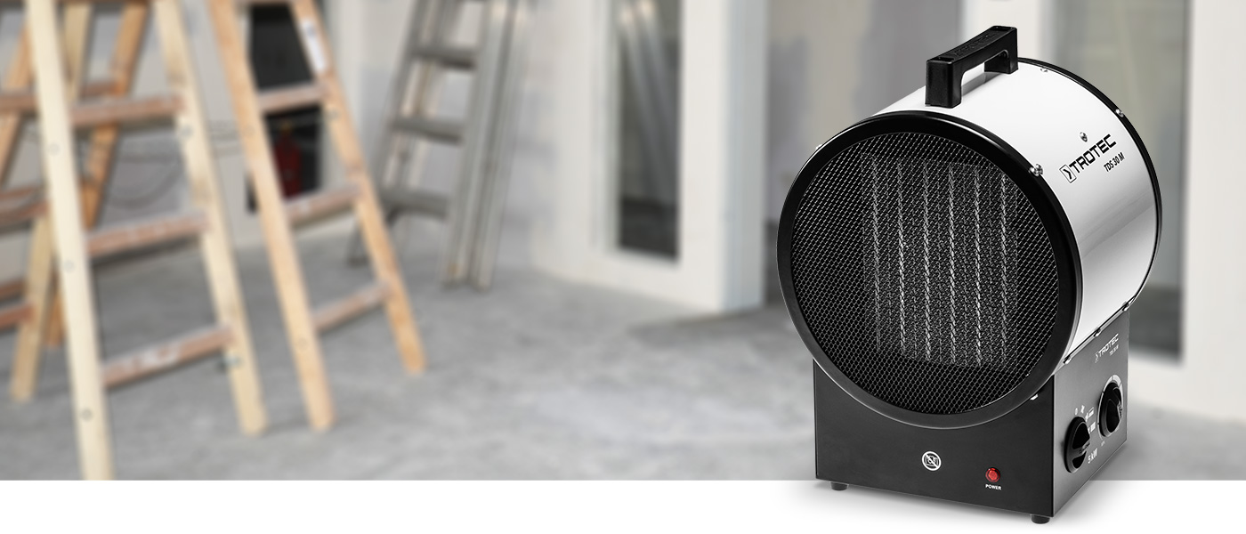 Radiateur Soufflant Consommation se rapportant à radiateur soufflant céramique tds 30 m - trotec