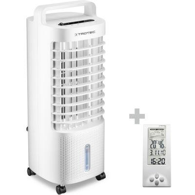 Rafraîchisseur d'air et humidificateur d'air PAE 11 + Station météo BZ06