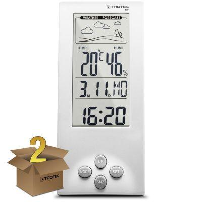 Thermo-hygromètre / Station météo BZ06 en lot de 2