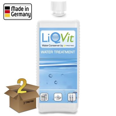 Conservateur d'eau LiQVit 1000 ml en lot de 2