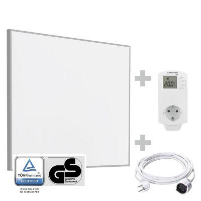 Panneau rayonnant infrarouge TIH 400 S + Rallonge PVC de 5 m + Prise thermostat BN30