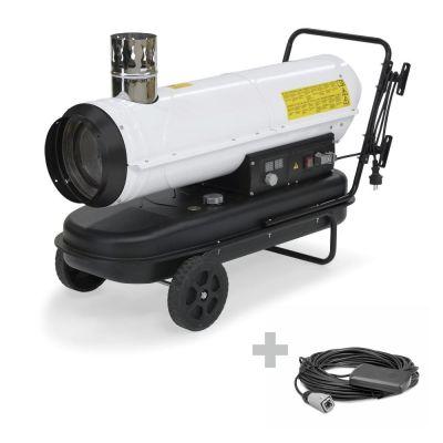 Canon à air chaud au fioul IDE 30 + Thermostat externe
