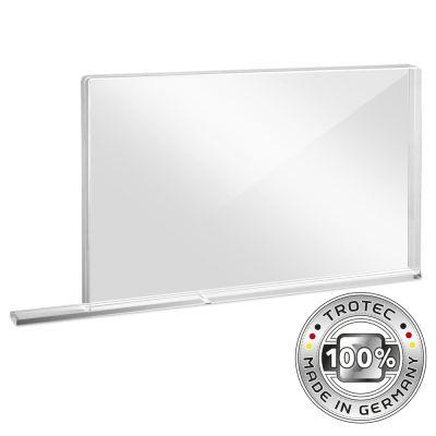 Panneau de protection acrylique à usage scolaire SMALL 800 x 69 X 500