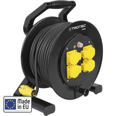 Enrouleur électrique PVD3 40 m noir