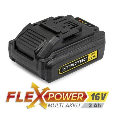 Batterie de réserve Flexpower 16 V 2,0 Ah