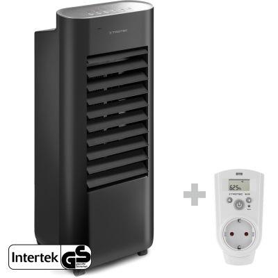 Rafraîchisseur d'air design à fonction d'humidification PAE 22 + Prise hygrostat BH30