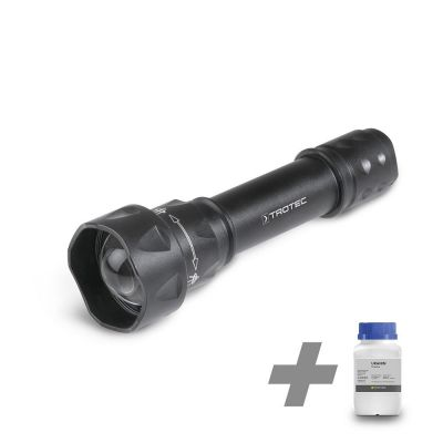 Lampe torche UV Torchlight 15F + Fluorescéine