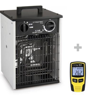 Aérotherme TDS 20 + Enregistreur de température et d'hygrométrie BL30