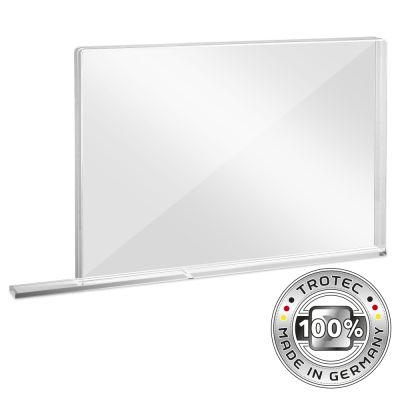 Panneau de protection acrylique à usage scolaire MEDIUM 1007 x 69 x 688