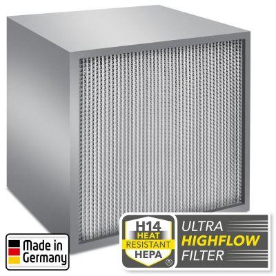 Filtre à particules H14 à ultra-haut débit anti-coronavirus pour TES 200 et TAC V+