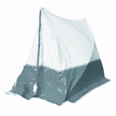 Tente 180 TE 180*180*170 toit en pente, gris