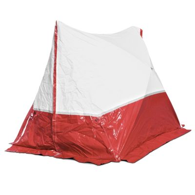 Tente 250 TE 250*200*190 toit en pente, rouge