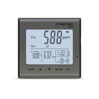 Thermo-hygromètre enregistreur de CO2 BZ30
