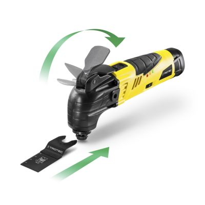 Outil multifonctions sans fil PMTS 10-12V + Batterie supplémentaire