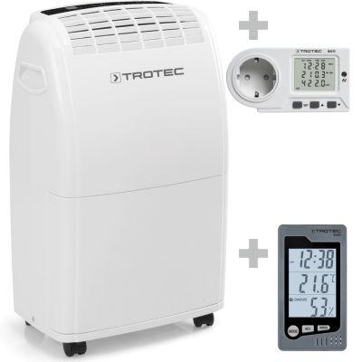 Déshumidificateur TTK 75 E + Thermo-hygromètre BZ05 + Wattmètre BX11