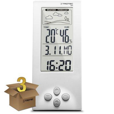 Thermo-hygromètre / Station météo BZ06 en lot de 3