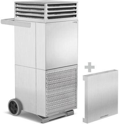 Purificateur d'air TAC V+ acier inoxydable + Capot insonorisant