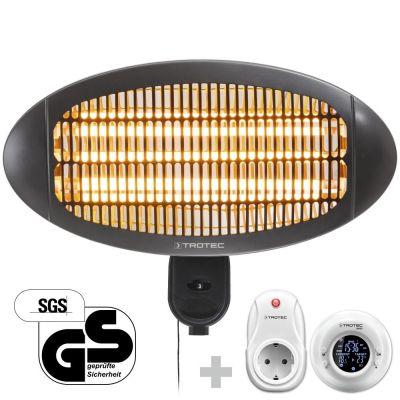 Radiant infrarouge électrique IR 2000 S + Thermostat sans fil BN35