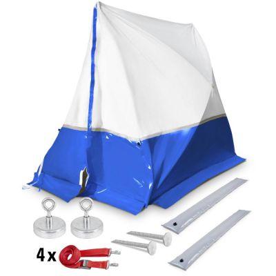 Tente 250 TE, bleue (250 x 200 x 190) + Accessoires