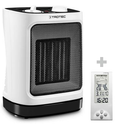 Chauffage soufflant céramique TFC 17 E + Thermo-hygromètre / Station météo BZ06