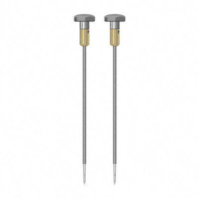 Paire d'électrodes rondes TS 012/200 4 mm, isolées