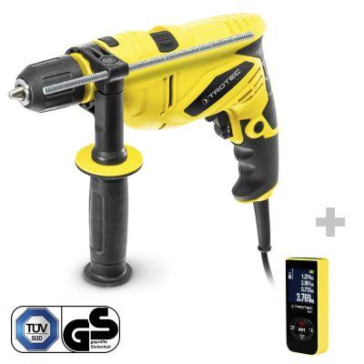Perceuse à percussion PHDS 10-230V + Télémètre laser BD11