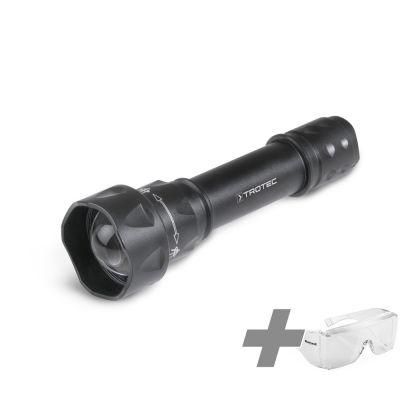 Set Lampe torche UV Torchlight 15F + Lunettes