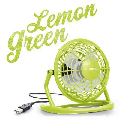 Ventilateur de table USB citron vert TVE 1L