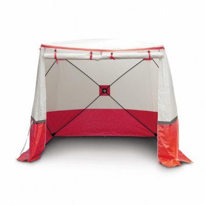 Tente 350 KE, rouge (350 x 350 x 215)