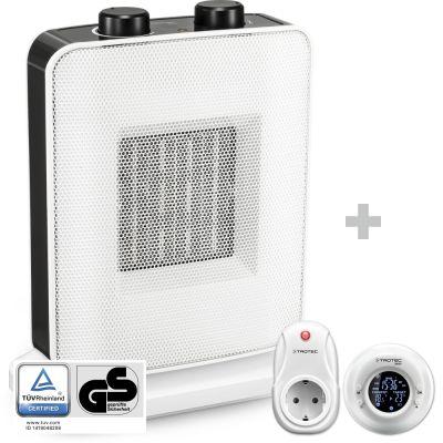 Chauffage soufflant céramique TFC 15 E + Thermostat sans fil BN35