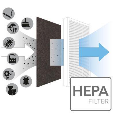 Filtre True HEPA pour AirgoClean 10 E