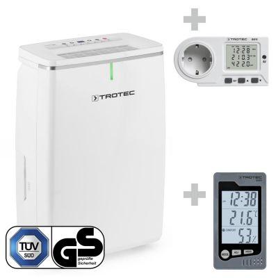 Déshumidificateur TTK 72 E + Thermo-hygromètre BZ05 + Wattmètre BX11