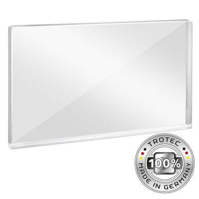 Plaque de protection acrylique pour bureau 1158 x 69 x 688