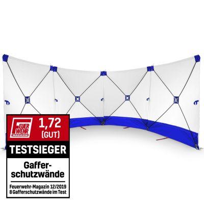 Écran VarioScreen 4x 180x180 blanc/bleu