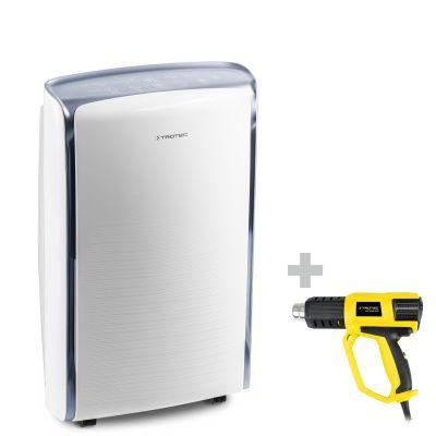 Déshumidificateur confort TTK 73 E + Décapeur thermique HyStream 2000