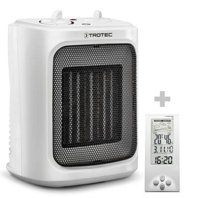 Chauffage soufflant céramique TFC 16 E + Thermo-hygromètre / Station météo BZ06