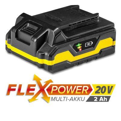 Batterie Flexpower 20 V 2,0 Ah_1