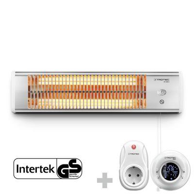 Radiant infrarouge électrique IR 1200 S + Thermostat sans fil BN35