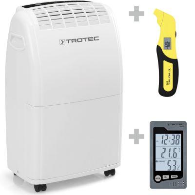 Déshumidificateur TTK 75 E + Thermo-hygromètre BZ05 + Testeur de pression des pneus BY10