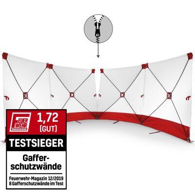 Écran VarioScreen 4 x 180x180 rouge à glissière