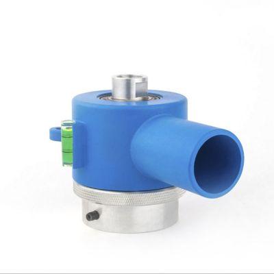Adaptateur pour dispositif d'aspiration/de rinçage de la poussière pour carottage à sec/à eau