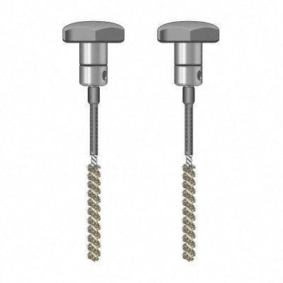 Paire d'électrodes à balai TS 020/110, isolées