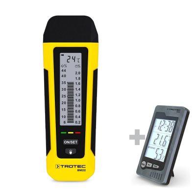 Humidimètre BM22 + Thermo-hygromètre de table BZ05