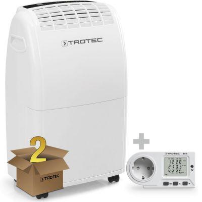 Déshumidificateur TTK 75 E en lot de 2 avec wattmètre BX11