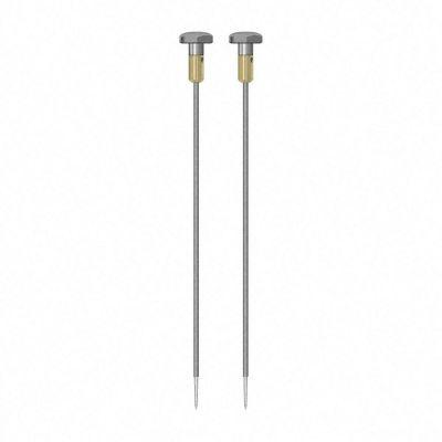 Paire d'électrodes rondes TS 012/300 4 mm, isolées
