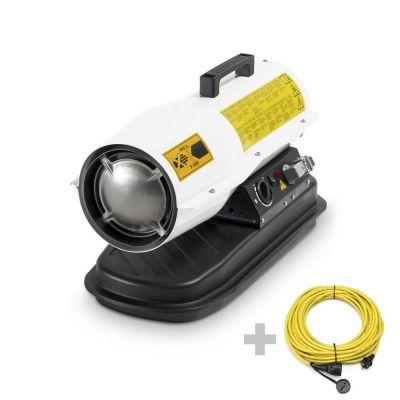 Canon à air chaud au fioul à combustion directe IDE 20 D + Rallonge 20 m