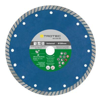 Disque de coupe diamant turbo AD 230 DB