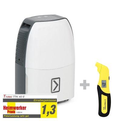 Déshumidificateur TTK 40 E + Testeur de pression BY10