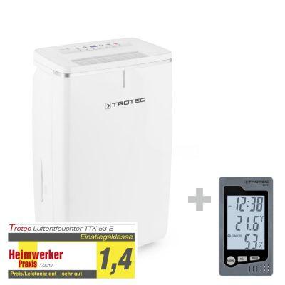 Déshumidificateur TTK 53 E + Thermo-hygromètre de table BZ05