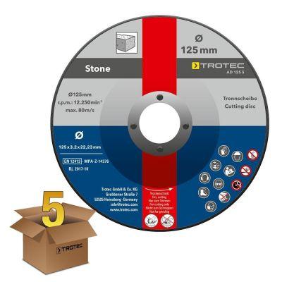 Disques de coupe pour pierre AD 125 S (5 pces)